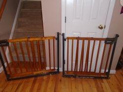 Summer Infant Step to Secure Wood Walk-Thru Pressure Mount Baby Gate - $50