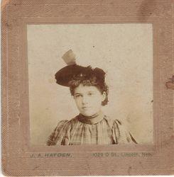 J. A. Hayden, photographer, of Lincoln, NE