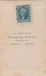 M. Beyer, photographer of Buffalo, NY - back