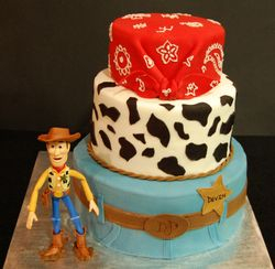 Woody themed Cake