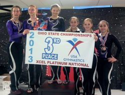 3rd Place State Champions