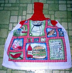 BBQ Picnic Kitchen Towel