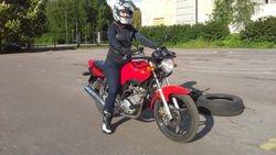 Yamaha ybr15