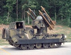 Chaparral AA-Missile Vehicle: