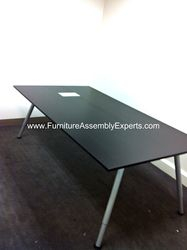 ikea galant conference table installation service in Washington DC
