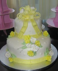 Bridal Shower in Yellow