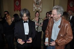 with Kent Nagano in May 2014, Montreal