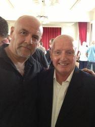 Keith Myatt and 'Nipper' Eddie Riley
