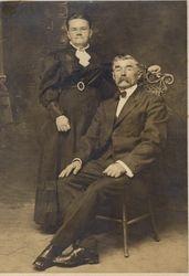 Mr. & Mrs. Eck 1918 of Ellensville, NY