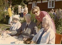 Flickorna Lundgren i Skaret 1969
