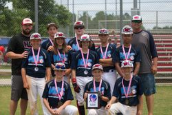 Nelson Baseball 12U White Bracket Runner-up