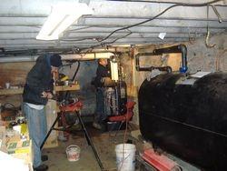 Assemblying the New Boiler and Header