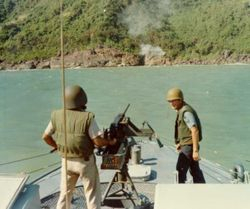 Firing on Suspected Enemy.