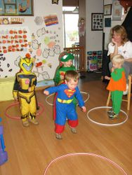 Halloween jumping game