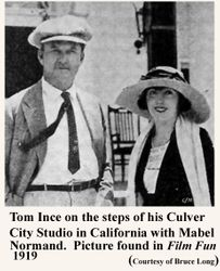 MABEL NORMAND and TOM INCE