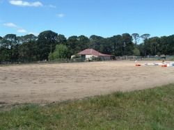 All weather sand arena 60x35m