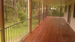 Powder coated handrails