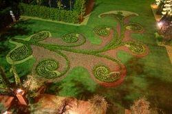 Right Parterre Garden inspired by Hautefort