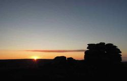 Sunset at Watern Tor