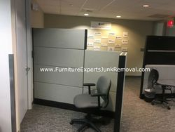 Junk office cubicle removal in vienna VA