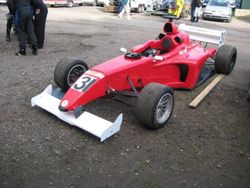 Flatshifter test car lydden hill