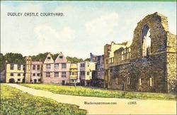 Castle Courtyard. c1907.