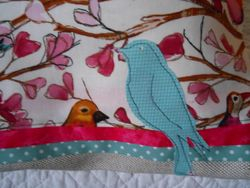Bird Cushion for Claire