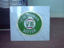 Victor Bitter Australian beer logo for local pub