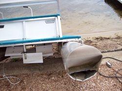 Paddle Boat Damaged