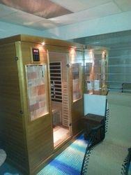 Welcome To The Salt/Sauna Room