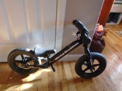 Strider ST4 Harley-Davidson UltraLight Balance Bike - $90