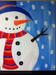 Glistening Snowman