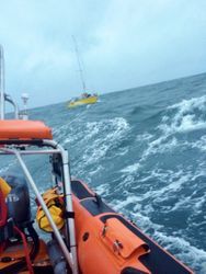 Kilkeel RNLI goes to aid of stricken yacht
