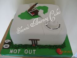 CAKE 37A1 - Cricket Fever