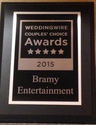 Our WeddingWire Award!