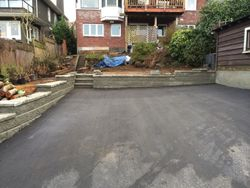 Creating a parking area, Point Grey