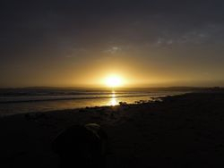 Sunset, Gower, 13th December 2013
