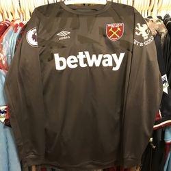 Dean Martin worn and signed 3rd goalkeeper shirt 2019/20