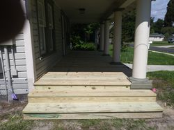 New Side Stairs