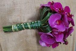 Toni Clopton Orchid Bridal Bouquet