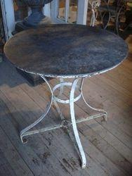 #14/295 Metal Garden Table SOLD