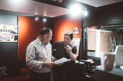Rob Vazey with Greg Mosen