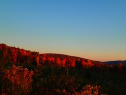 typical fall afternoon in Allagash country