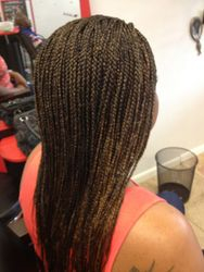 Box Braid Hair Extensions