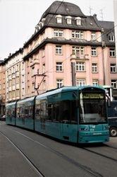 Flexity #272 on Braubachstrasse