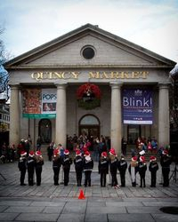 Inspiration performing at Faneuil Hall