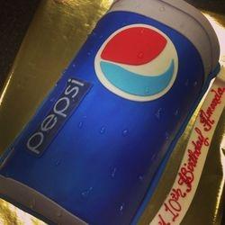 Pepsi Cake