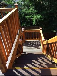 Upper Deck with Wrap Around Steps #2