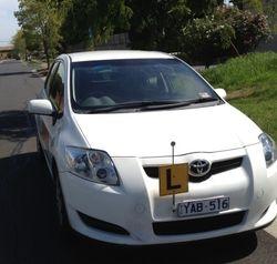 Driving School Wheelers Hill - Toyota Corolla Seca Hatch - Automatic