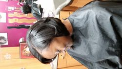 Bob cut, sew in